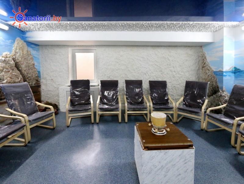 Санатории Белоруссии Беларуси - санаторий Ислочь - Галотерапия