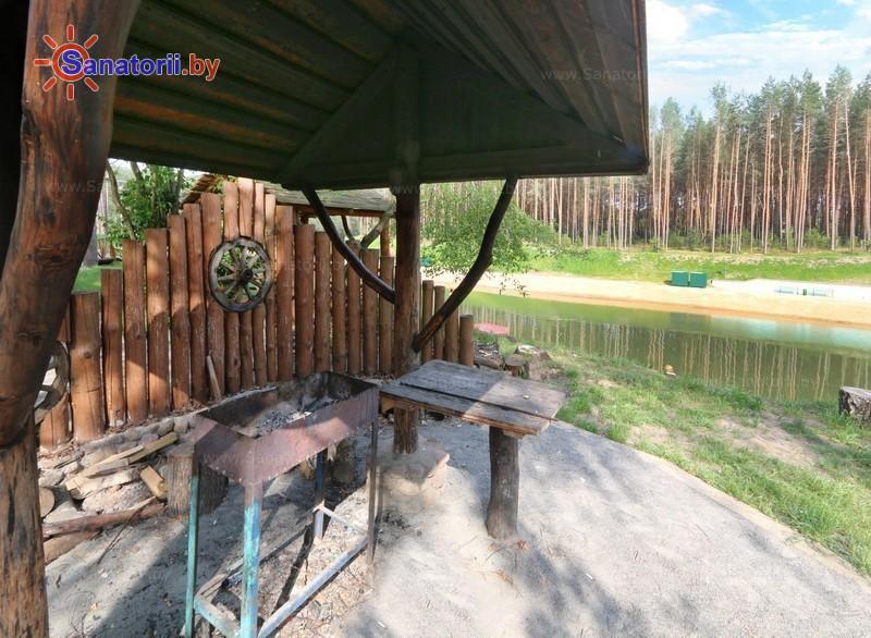Health resort of Belarus - health resort Isloch - Barbeque site