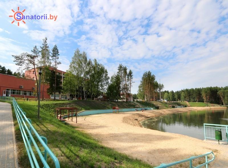 Санатории Белоруссии Беларуси - санаторий Ислочь - Водоём