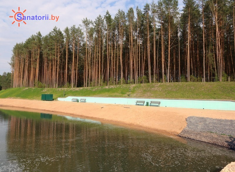 Санатории Белоруссии Беларуси - санаторий Ислочь - Пляж