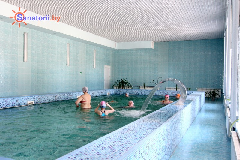 Health resort of Belarus - health resort Isloch - Swimming pool