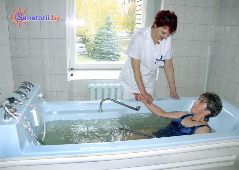 Санатории Белоруссии Беларуси -  Центр медицинской реабилитации и бальнеолечения - Ванны гидромассажные