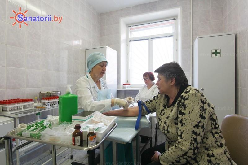 Санатории Белоруссии Беларуси -  Центр медицинской реабилитации и бальнеолечения - Процедурный кабинет