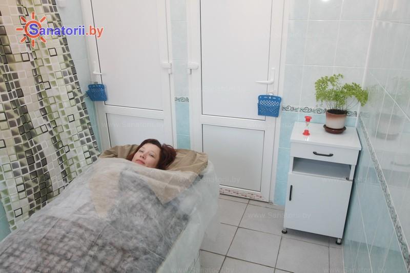 Санатории Белоруссии Беларуси -  Центр медицинской реабилитации и бальнеолечения - Озокерито-парафинолечение