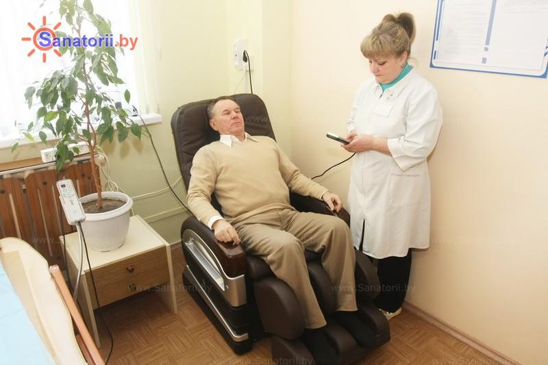 Санатории Белоруссии Беларуси -  Центр медицинской реабилитации и бальнеолечения - Массаж аппаратный
