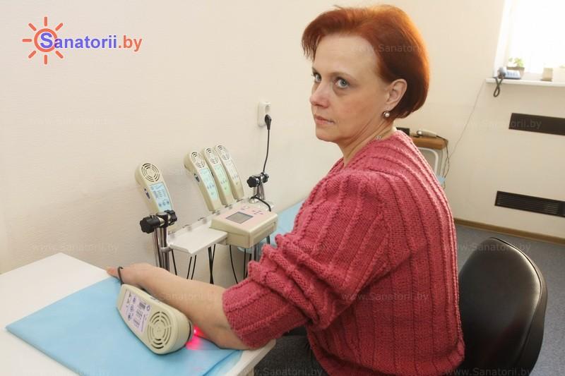 Санатории Белоруссии Беларуси -  Центр медицинской реабилитации и бальнеолечения - Лазерная терапия
