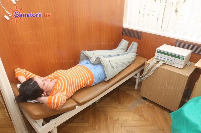 Санатории Белоруссии Беларуси -  Центр медицинской реабилитации и бальнеолечения - Компрессионная терапия
