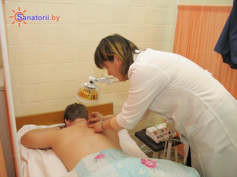 Санатории Белоруссии Беларуси -  Центр медицинской реабилитации и бальнеолечения - Иглорефлексотерапия