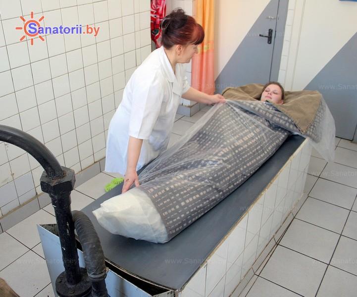 Санатории Белоруссии Беларуси -  Центр медицинской реабилитации и бальнеолечения - Грязелечение (пелоидотерапия)
