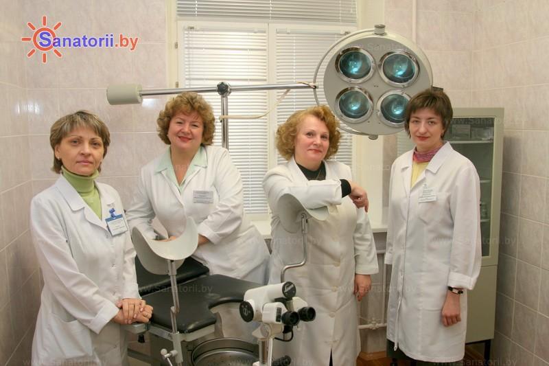 Санатории Белоруссии Беларуси -  Центр медицинской реабилитации и бальнеолечения - Гинекология