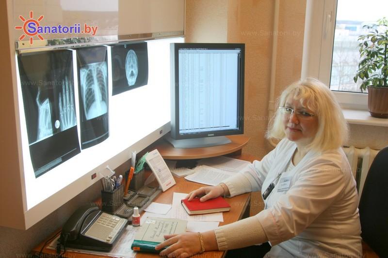 Санатории Белоруссии Беларуси -  Центр медицинской реабилитации и бальнеолечения - Рентгенодиагностика