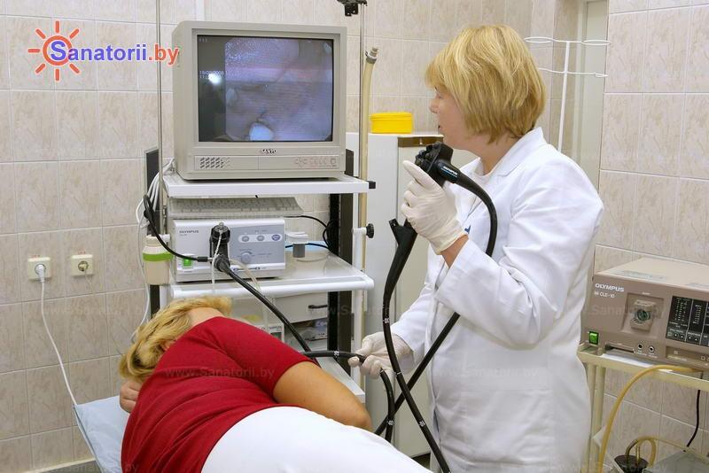 Санатории Белоруссии Беларуси -  Центр медицинской реабилитации и бальнеолечения - Эндоскопия