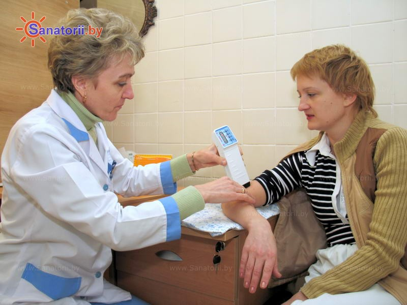 Санатории Белоруссии Беларуси -  Центр медицинской реабилитации и бальнеолечения - Электролечение