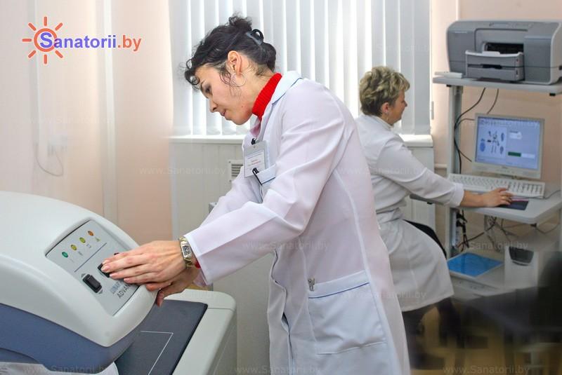 Санатории Белоруссии Беларуси -  Центр медицинской реабилитации и бальнеолечения - Функциональная диагностика