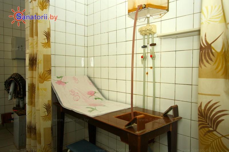 Санатории Белоруссии Беларуси -  Центр медицинской реабилитации и бальнеолечения - Орошения вагинальные минеральной водой