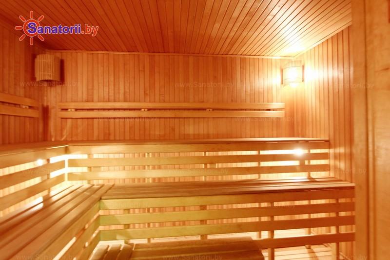 Санатории Белоруссии Беларуси -  Республиканская больница спелеолечения - Сауна финская