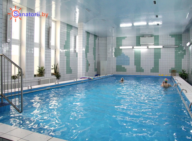Health resort of Belarus -  The Republican Hospital of Speleo treatment - Swimming pool