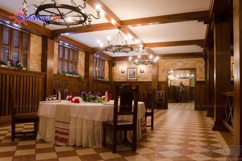 Санатории Белоруссии Беларуси - оздоровительный центр Силичи - Ресторан