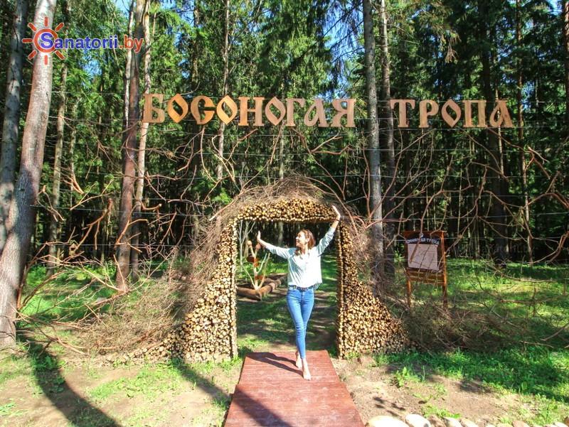 Санатории Белоруссии Беларуси - оздоровительный центр Силичи - Тропа здоровья