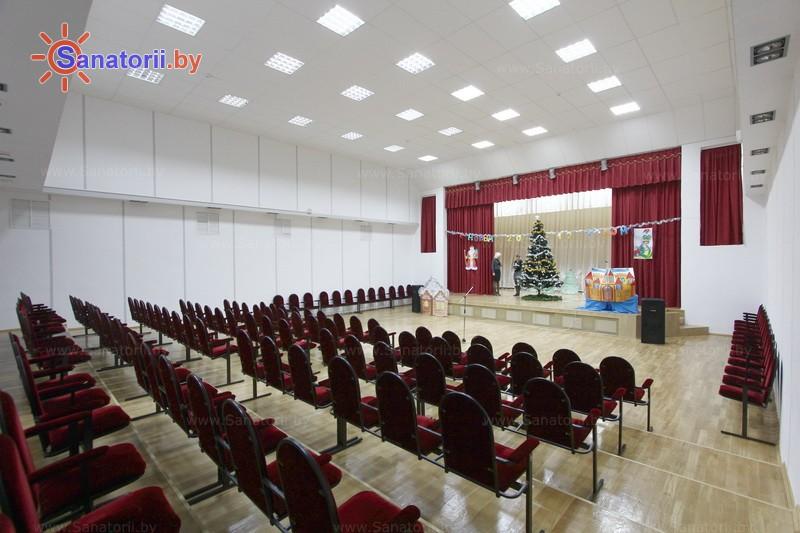 Санатории Белоруссии Беларуси - РДБМР Острошицкий городок - Кинозал