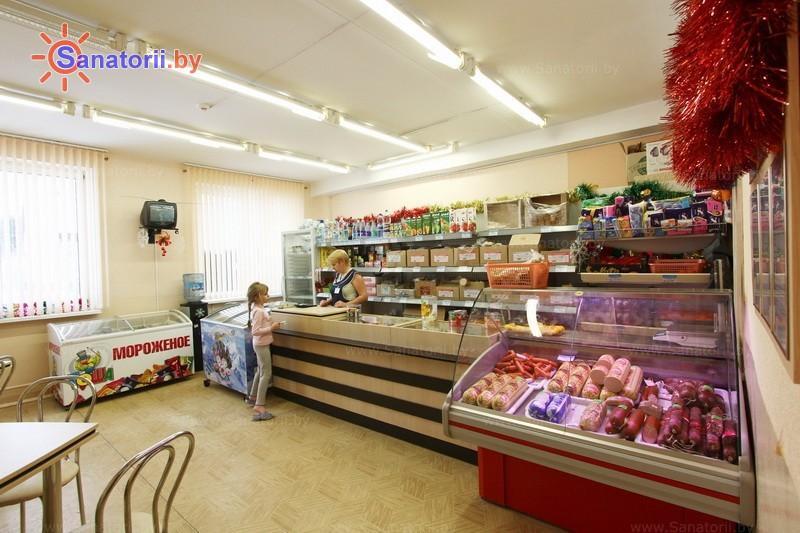 Санатории Белоруссии Беларуси - РДБМР Острошицкий городок - Буфет