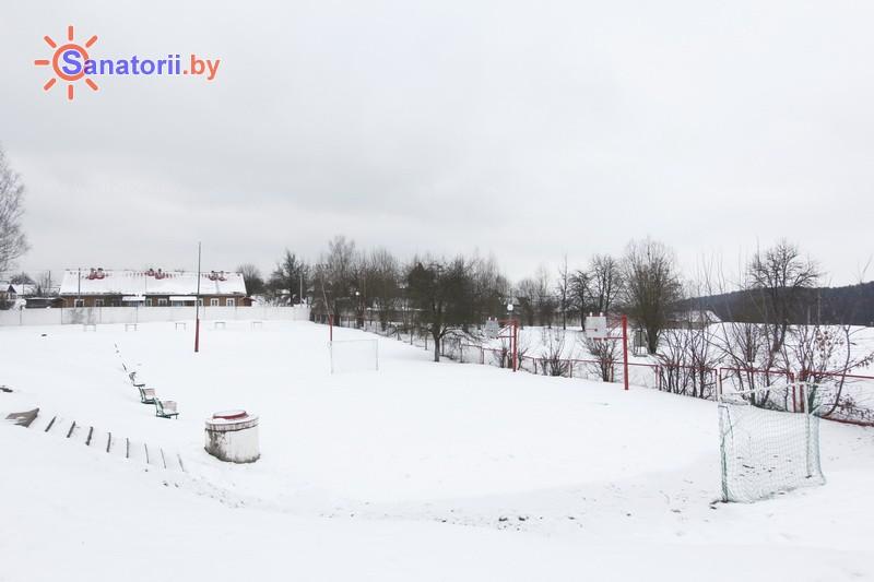 Санатории Белоруссии Беларуси - РДБМР Острошицкий городок - Спортплощадка