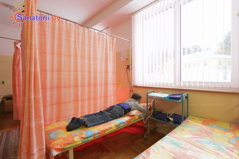 Санатории Белоруссии Беларуси - РДБМР Острошицкий городок - Электролечение
