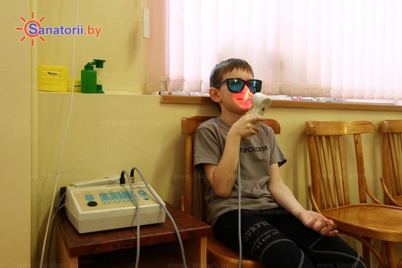 Санатории Белоруссии Беларуси - РДБМР Острошицкий городок - Лазерная терапия