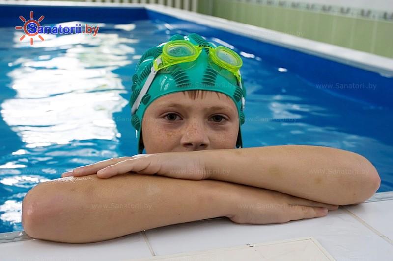 Health resort of Belarus - RHRMC Ostroshickij gorodok - Swimming pool