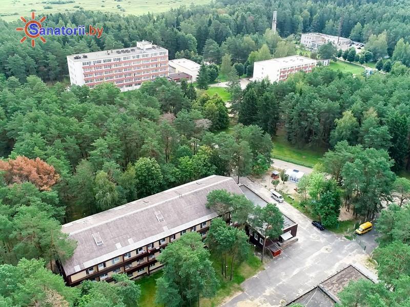 Санатории Белоруссии Беларуси - санаторий Чайка - Территория и природа