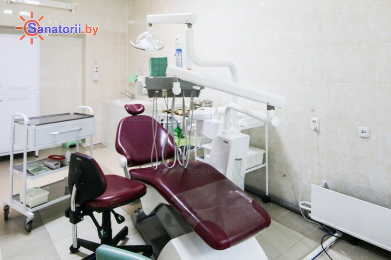 Санатории Белоруссии Беларуси - санаторий Чайка - Стоматология