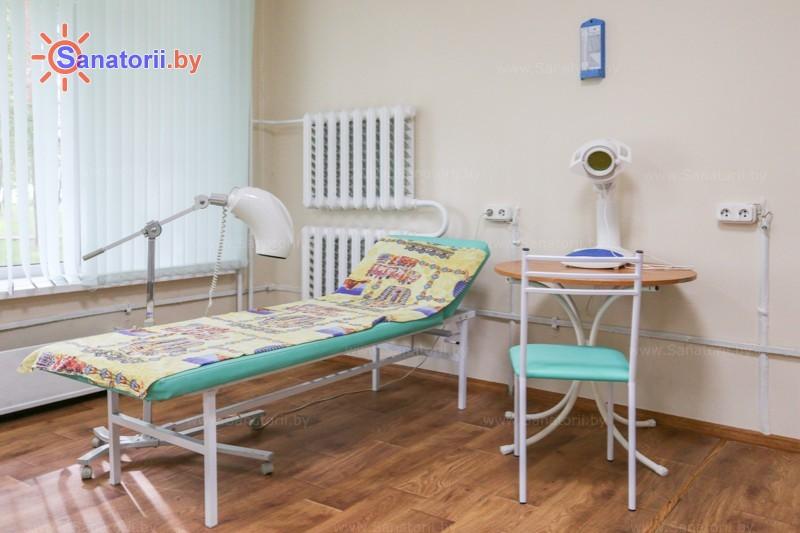 Санатории Белоруссии Беларуси - санаторий Чайка - Светолечение