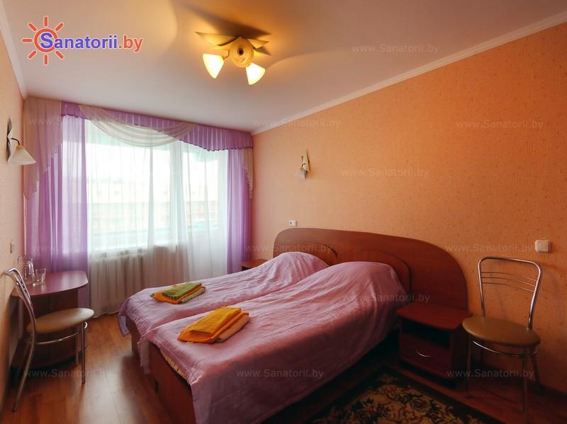 Health resort of Belarus - health resort Narochanka - double one-room in a block second category (main building)