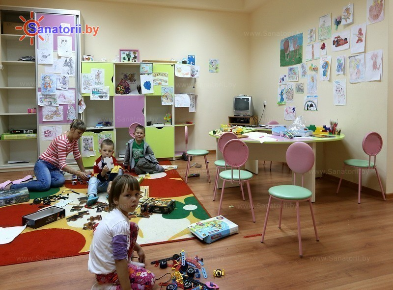 Санатории Белоруссии Беларуси - санаторий Нарочанка - Детская комната