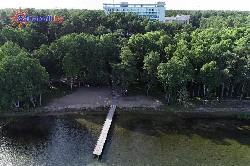 Санаторыі Беларусі - санаторый Нарачанка - Пляж