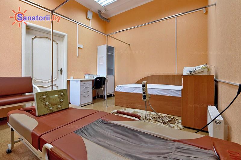 Санатории Белоруссии Беларуси - санаторий Василёк - Массаж аппаратный