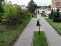 санатория Алеся - Территория и природа