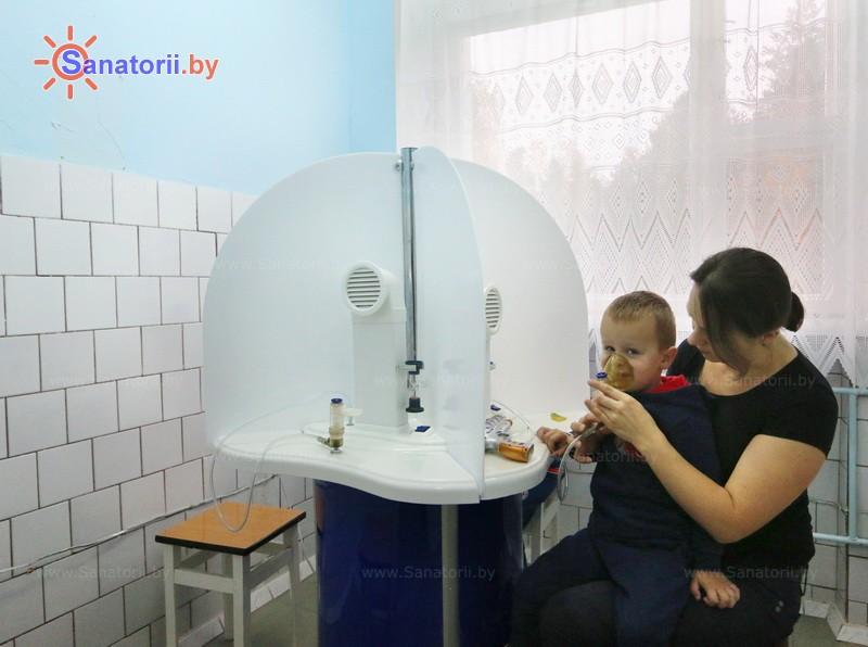 Санатории Белоруссии Беларуси - санаторий Алеся - Ингаляции (аэрозольтерапия)