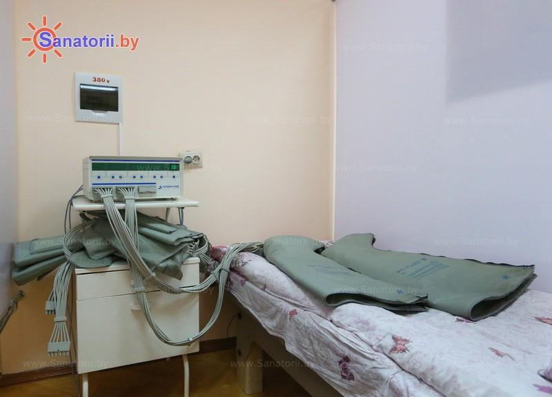 Санатории Белоруссии Беларуси - санаторий Алеся - Компрессионная терапия
