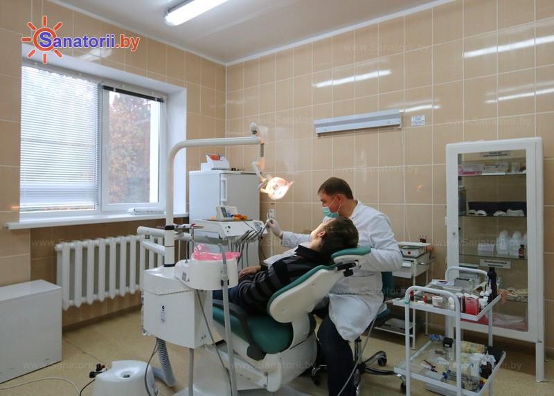 Санатории Белоруссии Беларуси - санаторий Алеся - Медицинская база