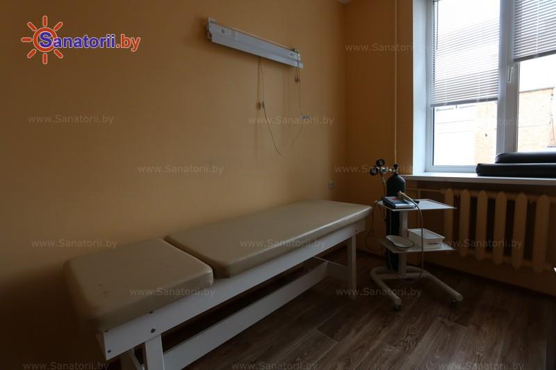 Санатории Белоруссии Беларуси - санаторий Алеся - Карбокситерапия (газовые уколы)