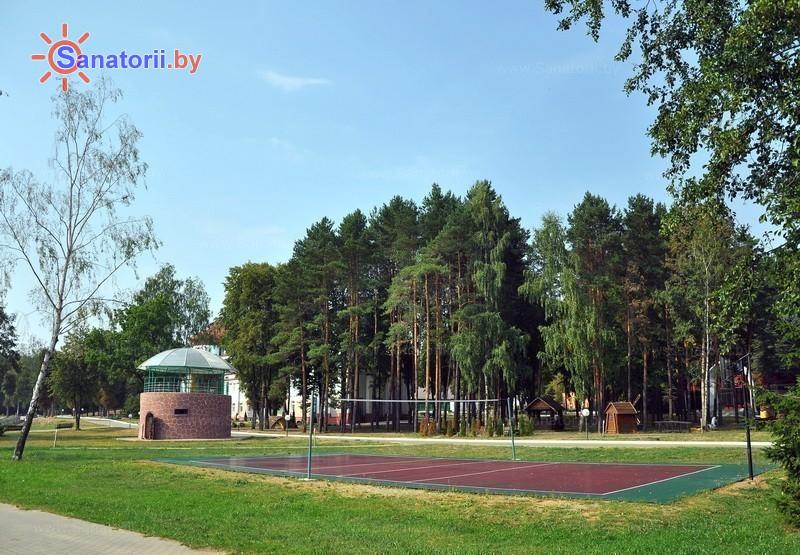 Санатории Белоруссии Беларуси - санаторий Белорусочка - Спортплощадка