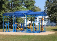 health resort Berestie - Outdoor gym