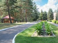 санатория Берестье (Брестагроздравница) - Территория и природа