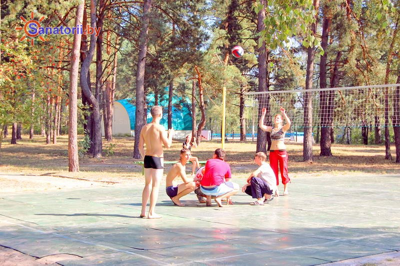 Санатории Белоруссии Беларуси - санаторий Берестье (Брестагроздравница) - Спортплощадка