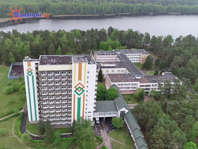 Санатории Белоруссии Беларуси - санаторий Берестье (Брестагроздравница) - Территория и природа