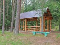 санаторий Боровое - Площадка для шашлыков
