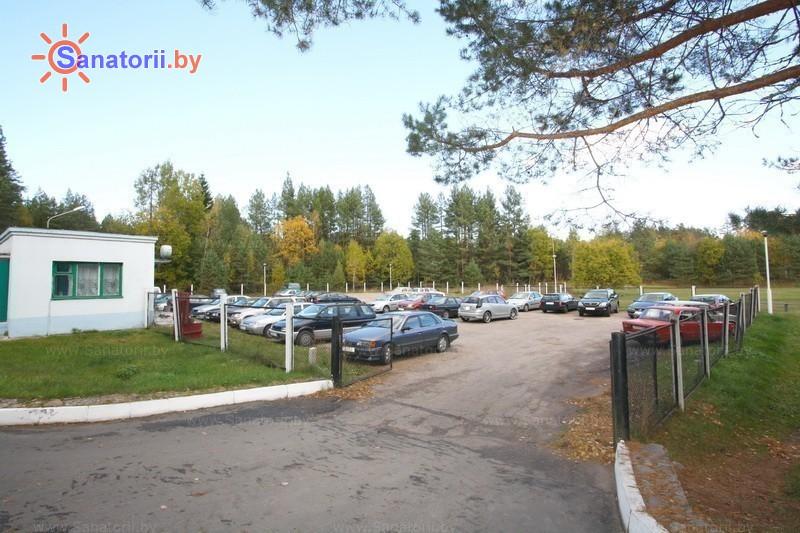 Санатории Белоруссии Беларуси - санаторий Боровое - Автостоянка