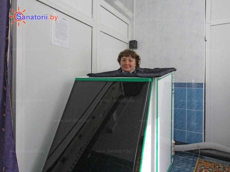 Санатории Белоруссии Беларуси - санаторий Боровое - Ванна сухая углекислая