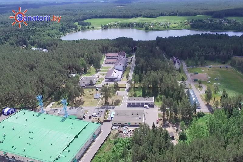 Санатории Белоруссии Беларуси - санаторий Боровое - Территория и природа